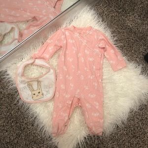 Perfect for Easter 🐣Jessica Simpson pink romper